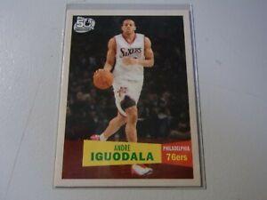 2007-08 Topps 1957-58 Variations 50th Anniversary Andre Iguodala 76ers #110