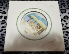 1977 SONGS OF CHRISTMAS AWAY IN THE MANGER Limited Edition Plate Metlox Potterie