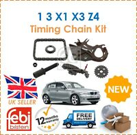 For BMW 1 3 5 X1 X3 Z4 Roadster Febi Timing Chain Kit For Oil Pump New