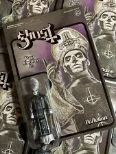 Super7 Heavy Metal  Ghost ReAction Figure Black Papa Emeritus 3 Action