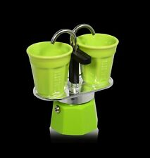 Bialetti 0006192 - Lot Mini Machine à Café Express pour 2 Tasses & 2 Maden
