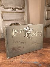 Antique Book First Edition IN A FAIR COUNTRY By Thomas Wentworth Higginson 1890