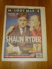 MELODY MAKER 1993 SEP 4 SHAUN RYDER NIRVANA NICK CAVE