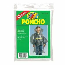 Coghlan's Emergency Plastic Festival Picnic Camping School Trip Poncho for Kids