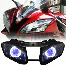Fully Assembled Blue Demon Angel Eye Headlight Projector for Yamaha YZF R6 08-15