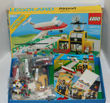 Vintage Lego 6392 Airport, Original Box & Instructions, 1985 Legoland WoW!! LQQK