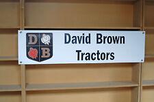 David Brown TRATTORI Banner Cartello in PVC Per Trattore Capanno Garage o Officina