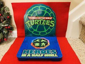 Teenage Mutant Ninja Turtles 'Heroes in a Halfshell' Wooden Chair Seat Top- RARE