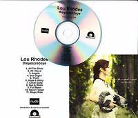 LOU RHODES Theyesandeye 2016 UK 11-track promo test CD