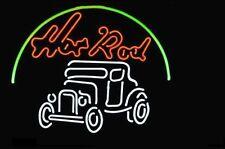 "New Hot Rod Garage Beer Bar Pub Neon Sign 17""x14"""