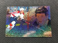 2014-15 UPPER DECK FLEER SHOWCASE AARON EKBLAD ROOKIE FLAIR BLUE ICE #ed 81/99
