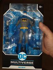MCFARLANE DC MULTIVERSE BATMAN BLUE VARIANT CHASE MIP NEW HTF