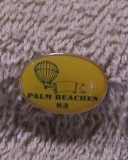 PALM BEACHES 83 BALLOON PIN