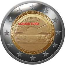2 EURO UNS COMMEMORATIVE CHYPRE 2017 CAPITALE EUROPEENNE DE LA CULTURE