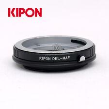 Kipon Adapter for Voigtlander DKL Mount CF Lens to Minolta AF/Sony Alpha  Camera