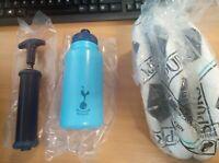 Tottenham Hotspur Signature Football Gift Set Football Water Bottle and Pump mam