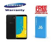 SAMSUNG Galaxy J6 2018 3GB/32GB Black DUAL SIM J600F UNLOCKED UK SPEC NEW Sealed