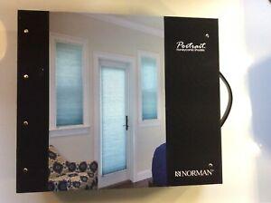 "Norman  ""PORTRAIT"" Honeycomb Shades"" Sales Sample Book"