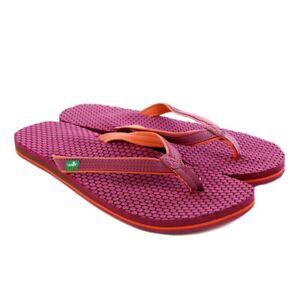 Sanuk Spritzer Women's Sandals Fuscia Size 7