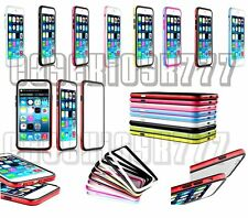 """for apple iphone 6 4.7"""" bumper case cover black white hot pink red green"""