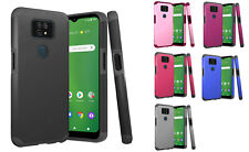 FOR Cricket Ovation 2 EC1002 (2021) ShockProof Hybrid Case Phone Cover