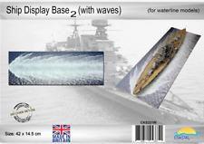 Coastal Kits Ship Display Base 02 - for waterline models