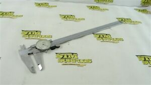 """MITUTOYO 12"""" PRECISION DIAL CALIPERS .001"""" STAINLESS HARDENED"""
