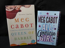 Meg Cabot: All-American Girl and Queen of Babble - Includes Shipping!!