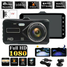 4Inch 1080P Car DVR Touch Screen Dashcam Camera Video Recorder Vehicle Camcorder
