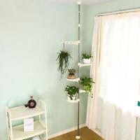Indoor Plant Stand Planter Holder Storage Rack Metal Corner Flower Display Shelf