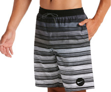"""Mens Nike Striped Breaker 9"""" Volley Shorts - XL & Large - NWT"""