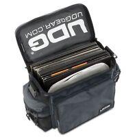 UDG letzte slingbag Black - gepolsterte Tasche für 50 Vinyls oder midi Regler