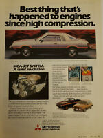 1979 DODGE Challenger Mitsubishi One-Page Vintage Print Car Ad Approx. 8x11in