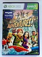 XBOX 360 KINECT ADVENTURES video game  pre-owned with manual