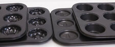 4x12 Cup Muffin Cupcake/Mould Pan Kitchen NON STICK Baking Pan Tray Tin
