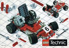 LEGO    CATALOGO  TECHNIC  1987   NOTICE / INSTRUCTIONS BOOKLET / BAUANLEITUNG