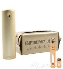 EMPORIO ARMANI SHE Eau de Parfum *BIG* Refillable Travel Atomiser 12ml Spray