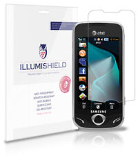 iLLumiShield Anti-Bubble/Print Screen Protector 3x for Samsung Mythic A897
