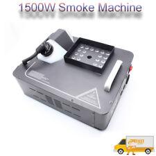 1500W DMX Nebelmaschine Bühnenlicht RGB LED Rauch vertikal Fernbedienung Upspray