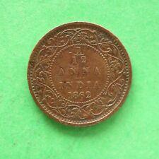 1862 India 1/12 Anna SNo50738