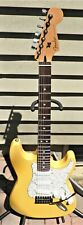 Custom Stratocaster guitar with Fender MIM Strat neck