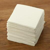 Glass Fusing Paper Sheets 50 Pcs Square Microwave Ceramic Fiber Household Kiln