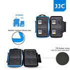 Water-Resistant Memory Card Case Storage Holder for 8 SD 8 Micro SD MSD TF Cards