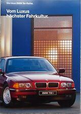"Prospekt BMW 7er E38 1/94 d  ""die neue 7er Reihe"""
