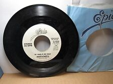 Old 45 RPM Record - Epic 19-50944 - Nightstreets - If I Had My Way (both sides)