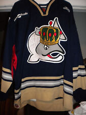 ECHL 2006-2007 VICTORIA SALMON KINGS RYAN JORDE GAME WORN HOCKEY JERSEY