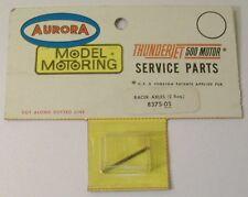 "Aurora TJet Racer Axle #8375, 1.125"" MOC with Header"