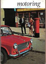 Motoring 7/66 Nuffield Mag Mini Morris Oxford Series VI Trico-Folberth +