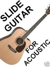 Acoustic Slide Guitar DVD VIDEO Lesson Do Not Detune! Standard Tuning Open Sound