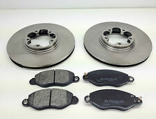 FORD TRANSIT FWD FRONT BRAKE DISCS AND PADS 2.0 TDCI  00-06